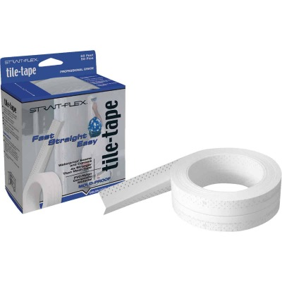 Strait Flex Tile-Tape 2-1/4 In. x 50 Ft. Cement Board Tape
