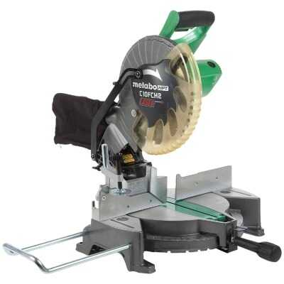 Metabo HPT 10 In. 15-Amp Compound Miter Saw with Laser Marker System