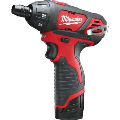 Milwaukee M12 12 Volt Lithium-Ion Compact Cordless Screwdriver Kit