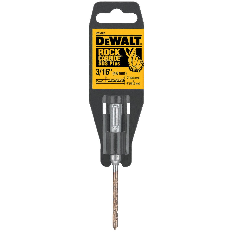 DeWalt SDS-Plus 3/16 In. x 4 In. 2-Cutter Rotary Hammer Drill Bit Image 1
