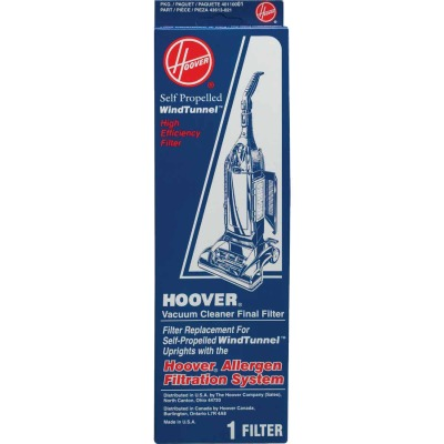Hoover Final High Efficiency Self Propelled WindTunnel Upright Vacuum Filter