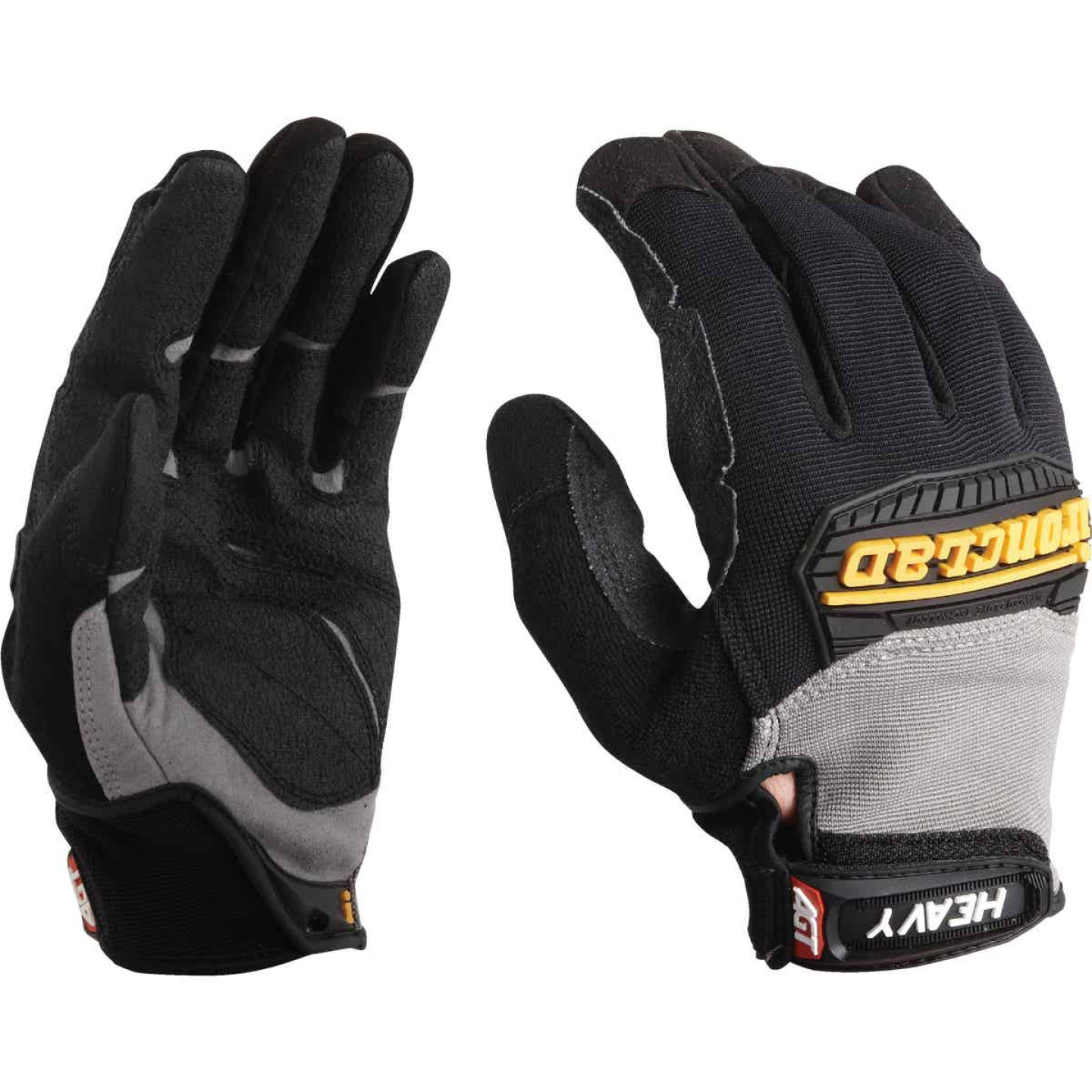 Ironclad Heavy Utility Men'sLarge Synthetic Leather High Performance Glove Image 3